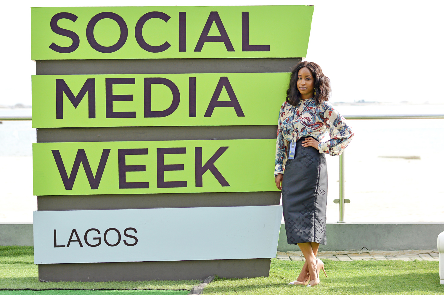 Lehlé Baldé at Social Media Week Lagos 2018