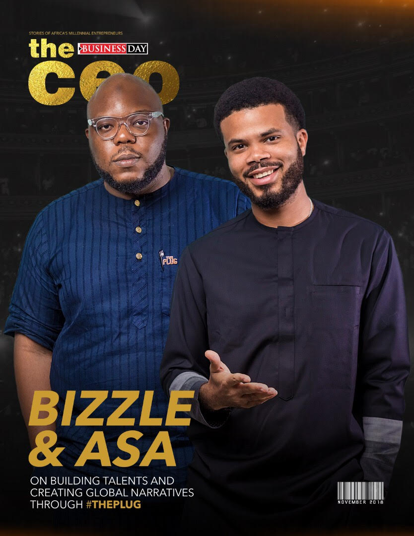 The CEO Magazine by Business Day - Headliners Bizzle and Asa - November 2018 Edition